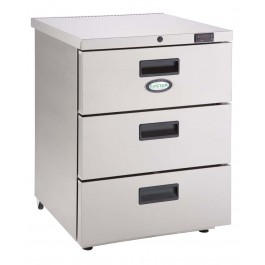 Foster HR 1503D Refrigerator Undercounter Cabinet with Drawers (+3°/+5°C)