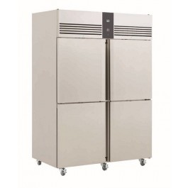 Foster EP 1440 H4 EcoPro G2 Refrigerator with Half Doors (+1°/+4°C)