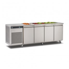 Foster EP 1/4 HS EcoPro G2 Refrigerator Counter with Saladette (+1°/+4°C)