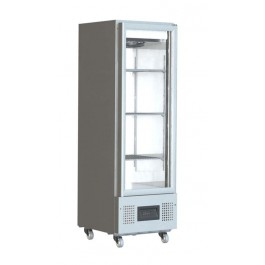Foster FSL 400 G Slimline Refrigerator with Glass Door (+1°/+4°C)
