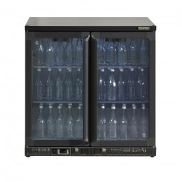 Gamko Maxiglass Noverta LG2/250G84 Low Height Glass Door Bottle Cooler (+2°/+18°C)