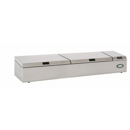 Foster PC189/9 Refrigerated Pan Chiller (1890mm Width) - with Stainless Cover (+1°/+4°C)
