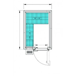 ProLine Freezer Room PL1520SL (-18°/-21°C)