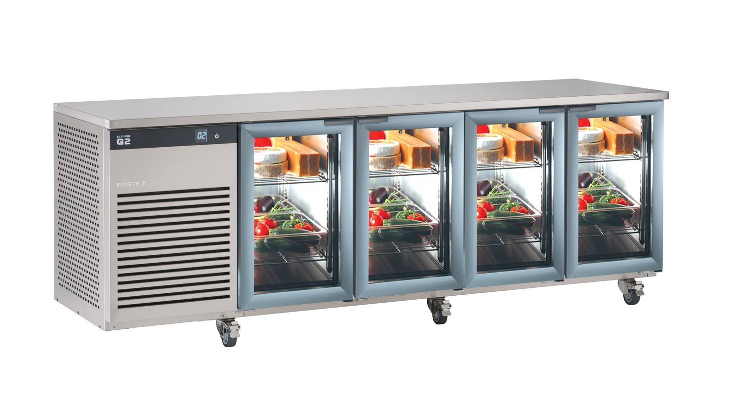 Foster Ep 14 G Ecopro G2 Refrigerator Counter With Glass Doors 1