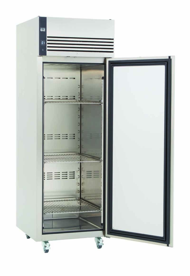 Ep 700 l ecopro g2 upright freezer cabinet 18 21 c for Door pros