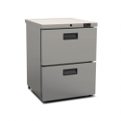 Foster HR 1502D Refrigerator Undercounter Cabinet with Drawers (+3°/+5°C)